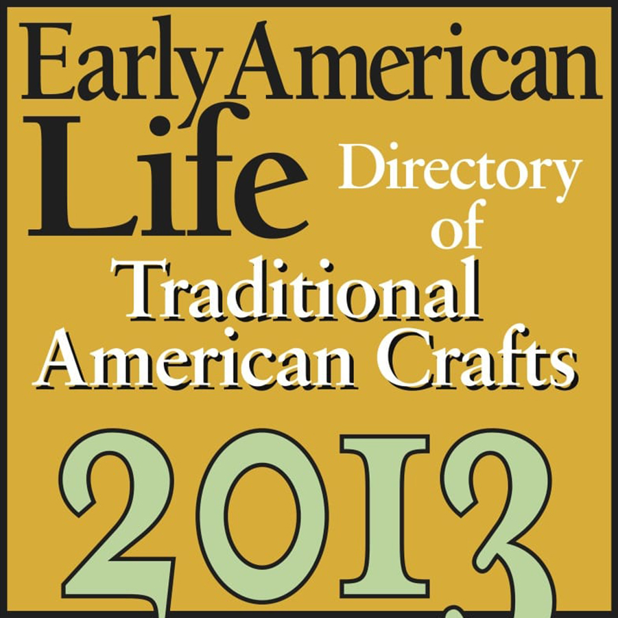 Early American Life Traditional American Crafts logo 2013