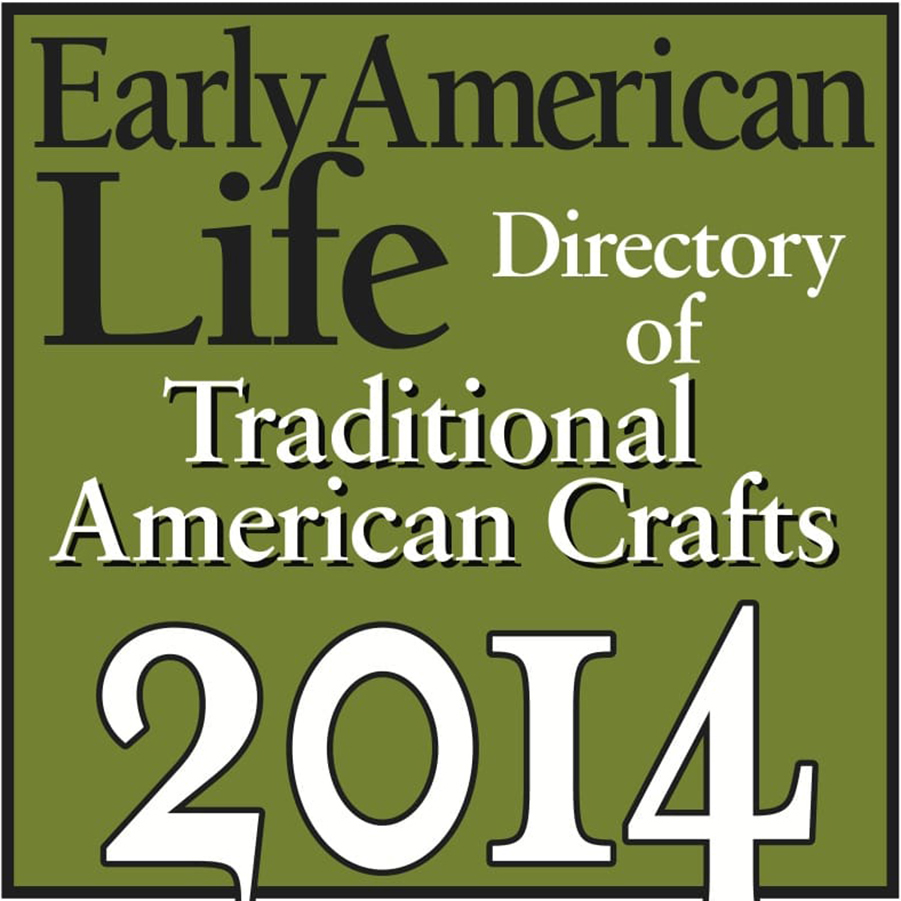 Early American Life Traditional American Crafts logo 2014