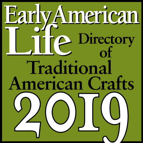 Early American Life Traditional American Crafts logo 2019