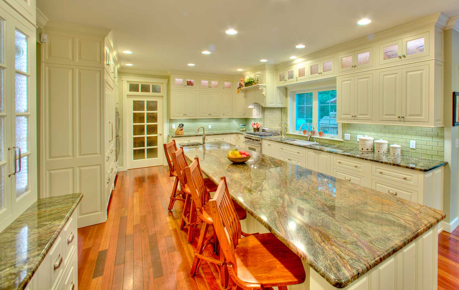 Remodeled kitchen space for a busy family