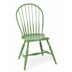 Green Bow Back Windsor Chair