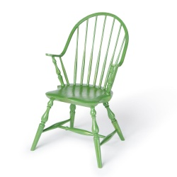 Green kids Continuous Arm Windsor Chair