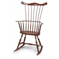 Comb back Windsor Chair with rockers classes