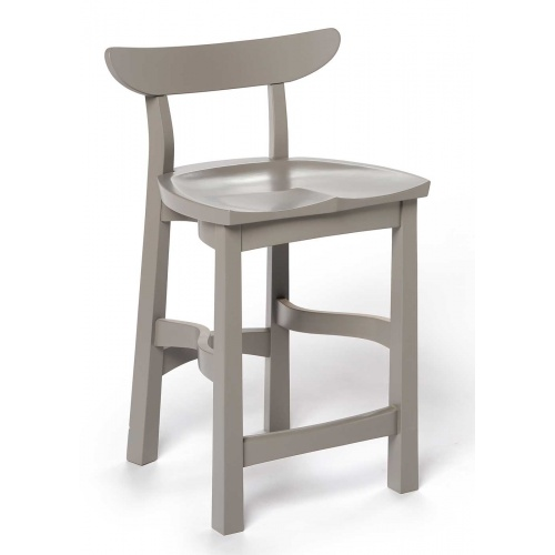 grey painted chair