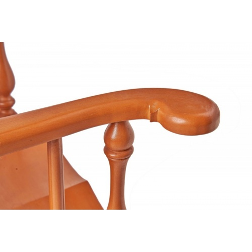 Detail of Low Back Windsor Chair Arm