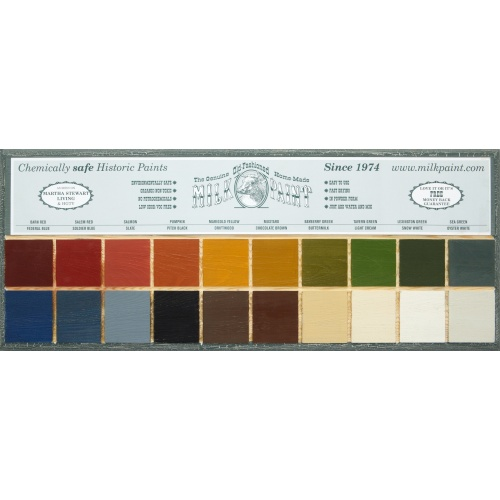 traditional milk paint colors
