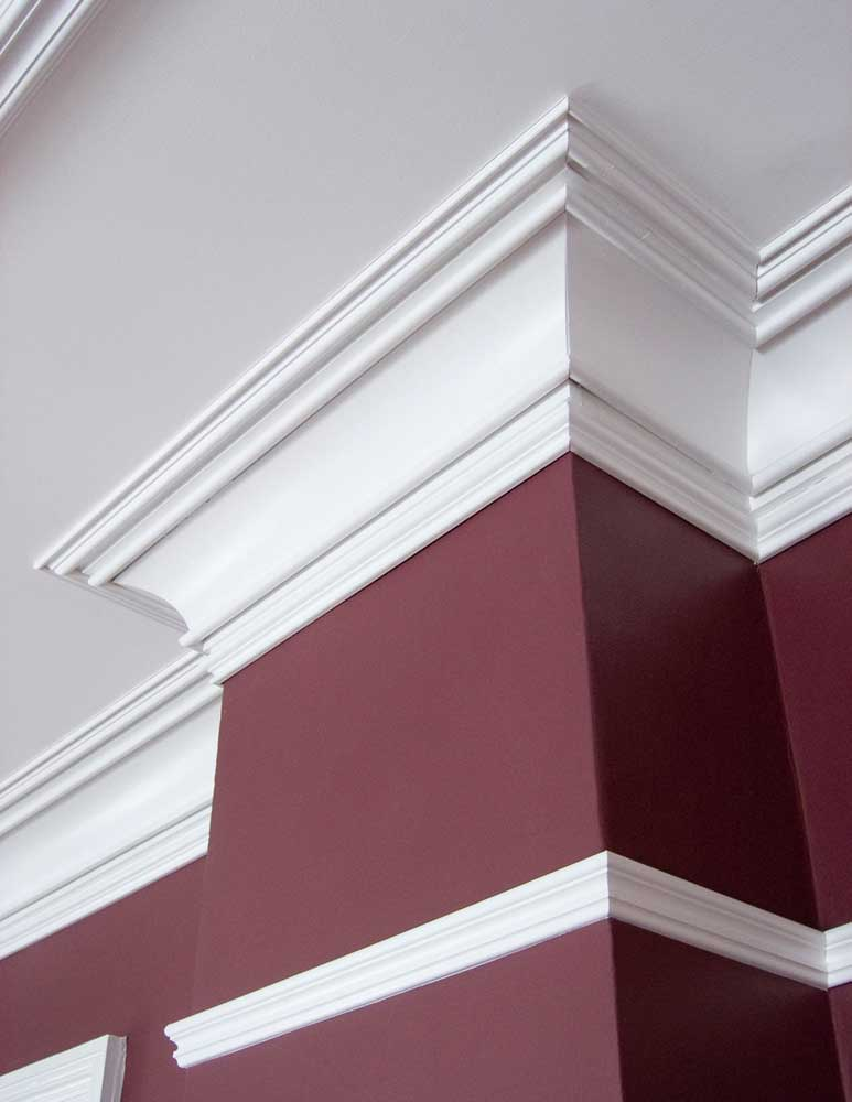 custom crown and picture rail molding