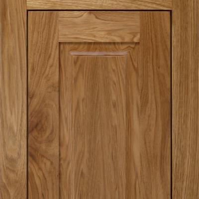 kitchen cabinet door in butternut