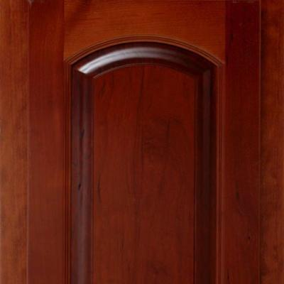 stained cherry kitchen cabinet door